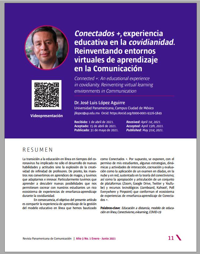 Conectados, experiencia educativa en la covidianidad
