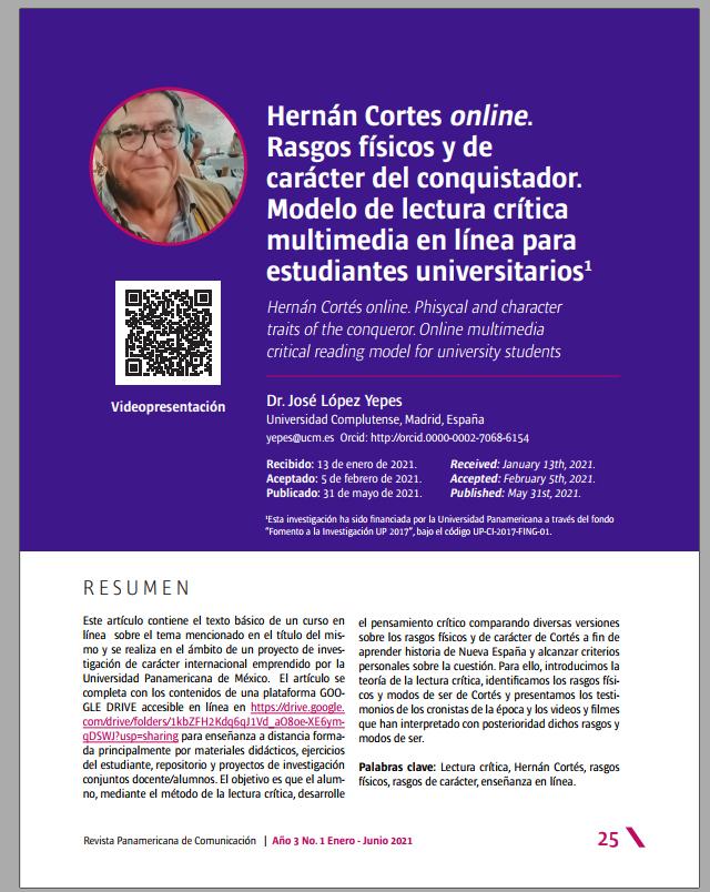 Hernán Cortes online