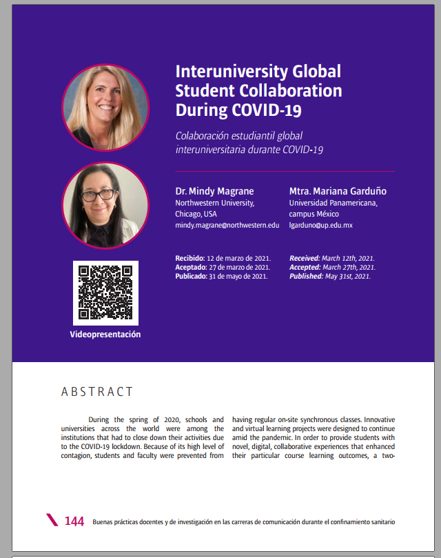 Interuniversity Global Student Collaboration During COVID-19